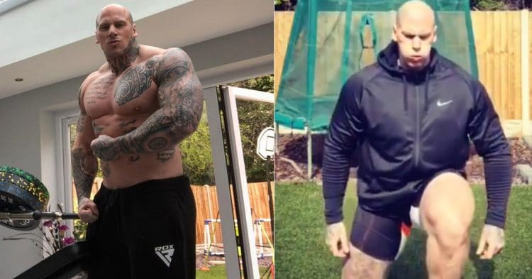 6 8 Bodybuilder Martyn Ford Shares Home Leg Workout With Fans Fitness Volt