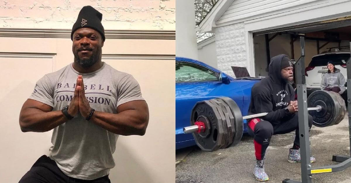 Kevin Oak Hits Mind Blowing 505lb Zercher Squats For 5 Reps Fitness Volt