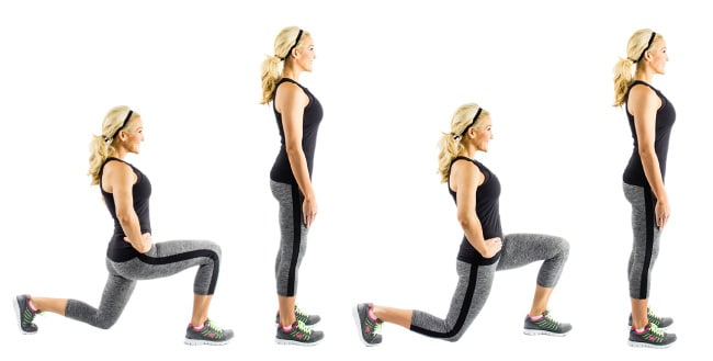 Walking Lunges Bodyweight