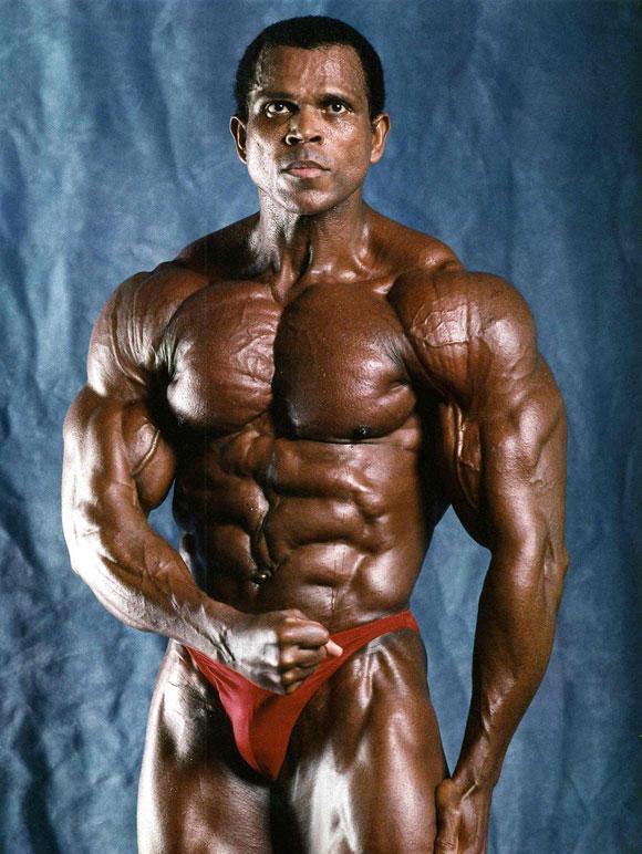 Bodybuilder Serge Nubret