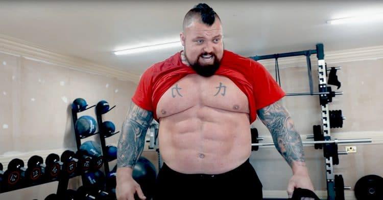 Eddie Hall Back Workout
