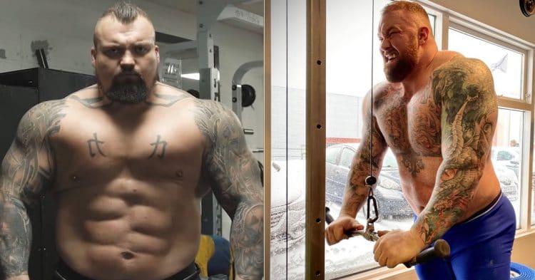 Eddie Hall Thor Bjornsson 1