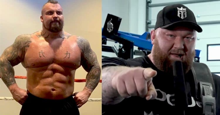 Hafthor Bjornsson Challenges Eddie Hall To Boxing Match