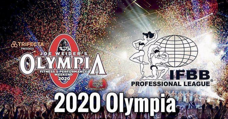 IFBB Pro League 2020 Schedule