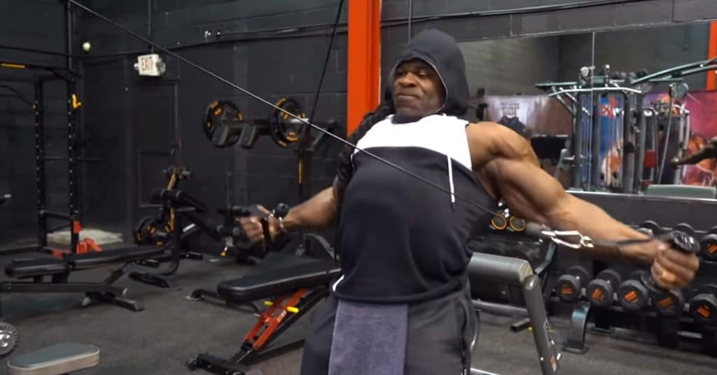 Kai Greene Shoulder Workout