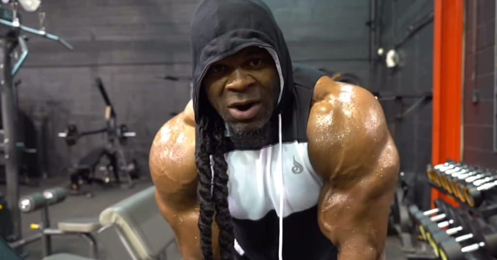 Kai Greene Shoulders