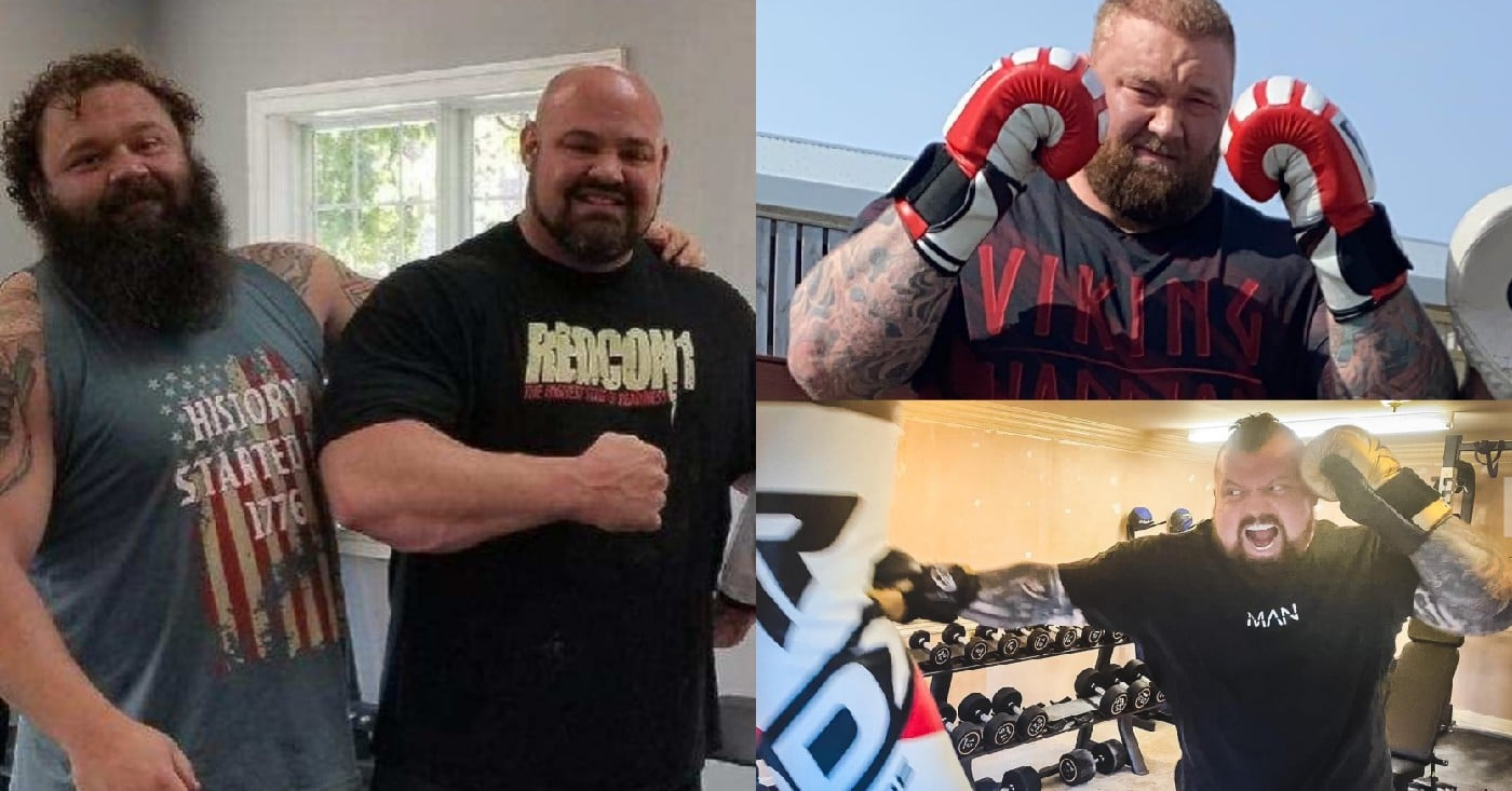 Brian Shaw, Robert Oberst Give Prediction For Hafthor Bjornsson vs Eddie Hall Boxing Match