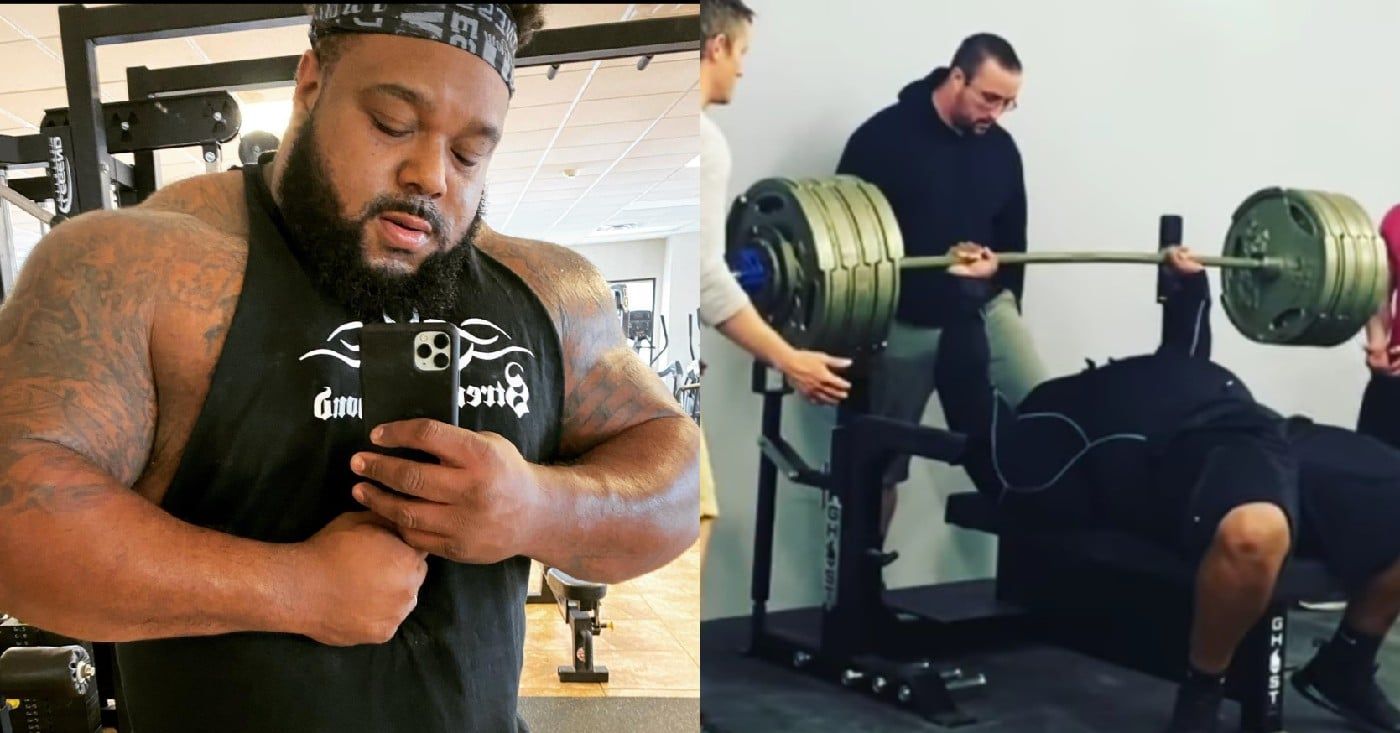 Julius Maddox Annihilates Hefty 705lb Bench Press For Solid Four Reps