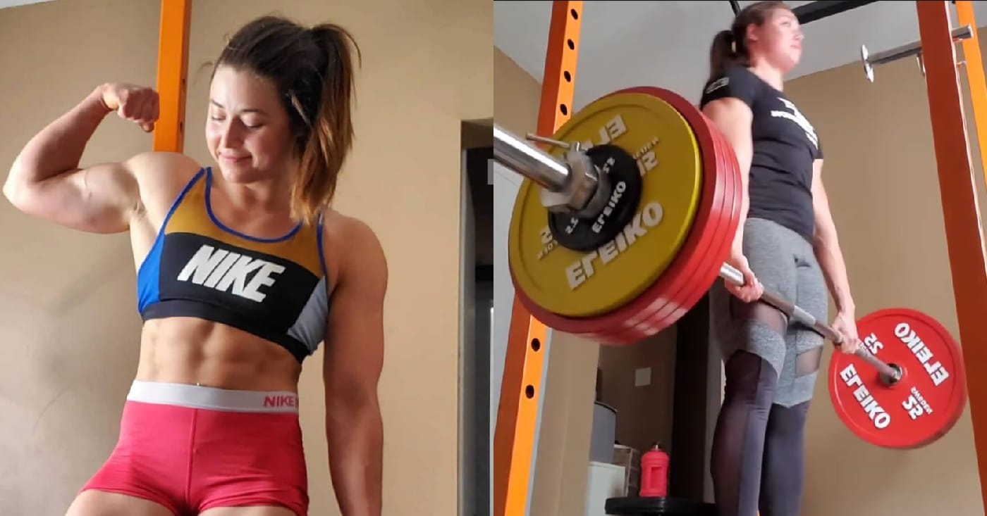 Jessica Buettner Completely Demolishes A 463lb Deadlift For Four Reps!