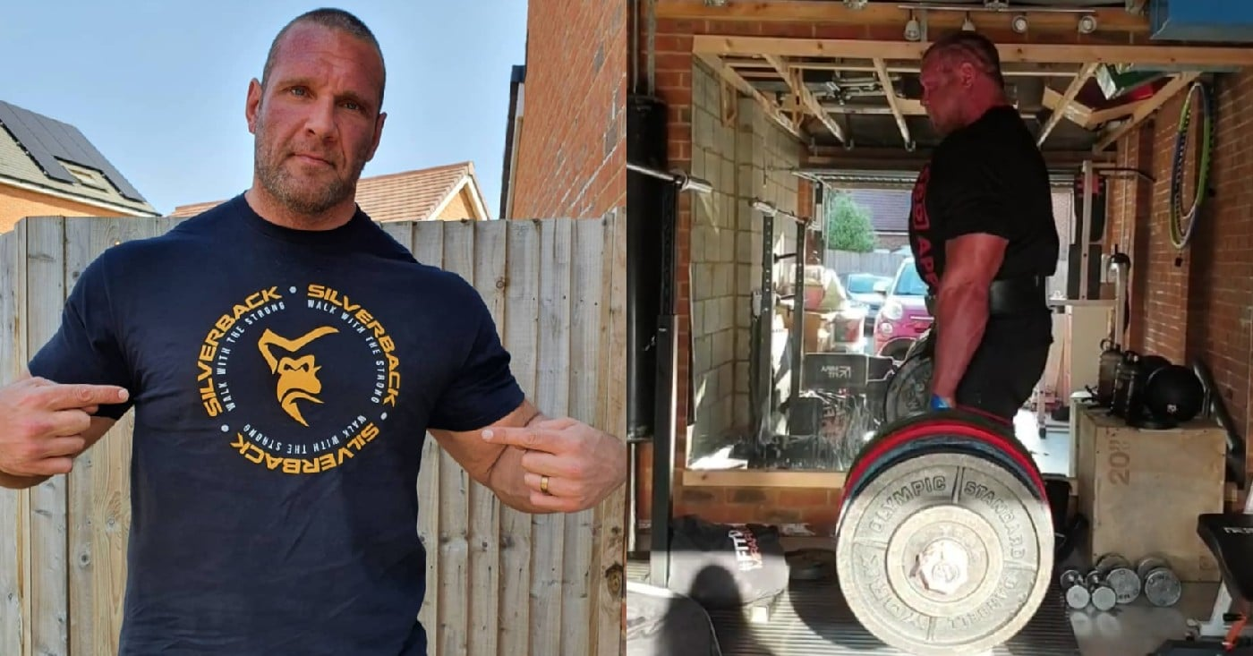 Terry Hollands Smokes 400kg Deadlift Double Like A Warm Up!