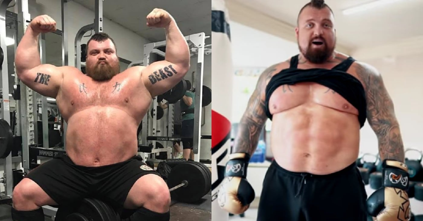 Eddie Hall Shows Off 20lb Weight Loss And Slick Boxing Skills In Recent Update