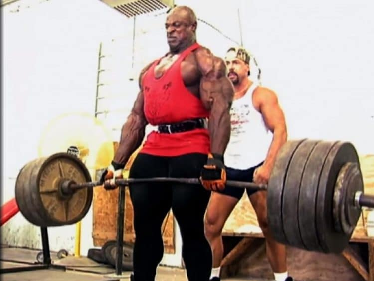 Ronnie Coleman Doing Deadlifts