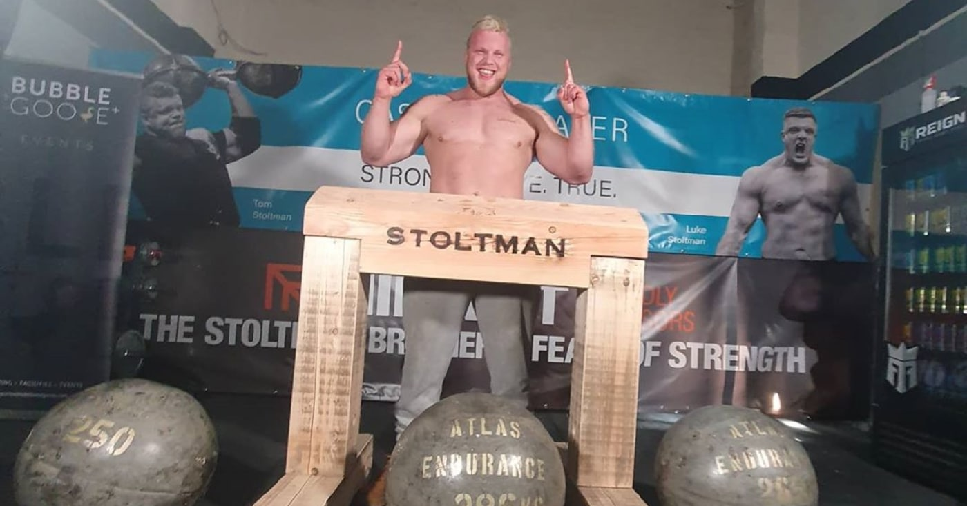 How To Watch: Tom Stoltman World Record Atlas Stone Lift Attempt