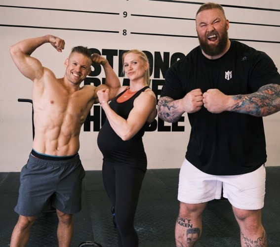 Annie Thorisdottir With Hafthor Bjornsson