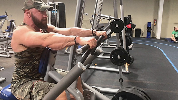 Chest Supported Machine Rows