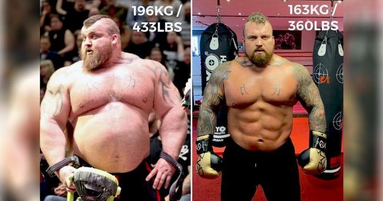 Eddie Hall Shows 3 Year Body Transformation