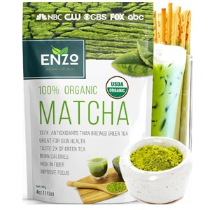 Enzo Private Selections 100 Organic Matcha Powder