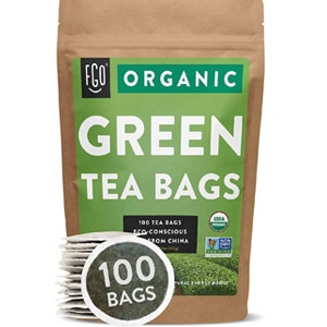 Fgo Organic Green Tea Bags