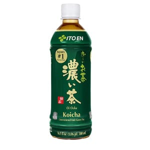 Ito En Oi Ocha Koicha Unsweetened Bold Green Tea Bottle