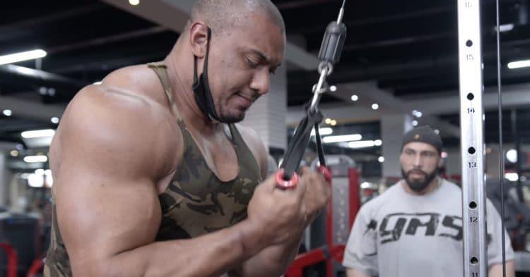Larry Wheels Arm Workout