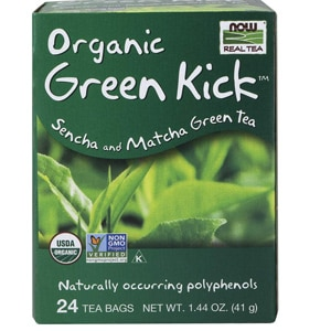 Now Foods Real Tea Organic Green