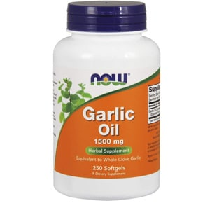 Now Supplements Garlic Oil Softgels