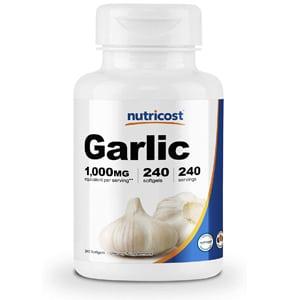 Nutricost Garlic Softgels