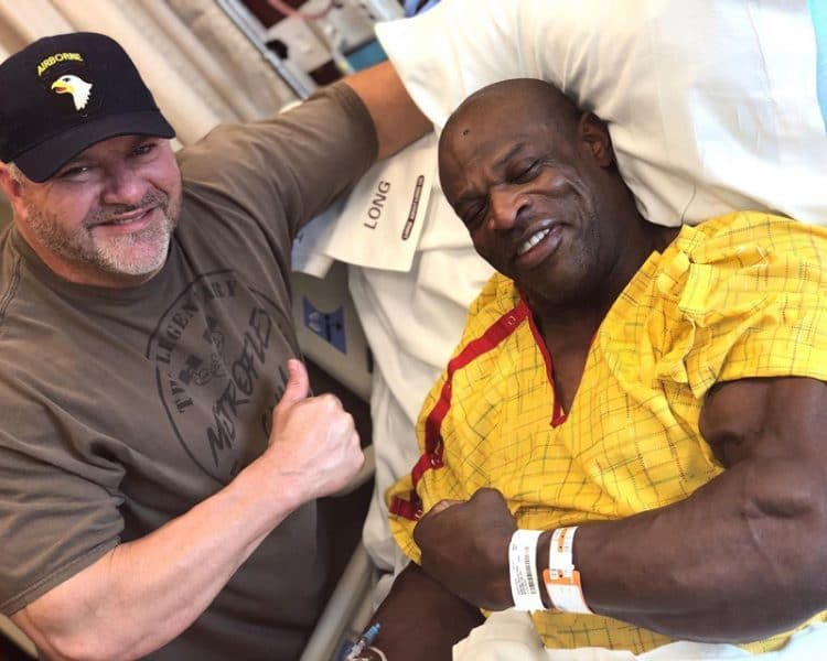 Ronnie Coleman After Surgery