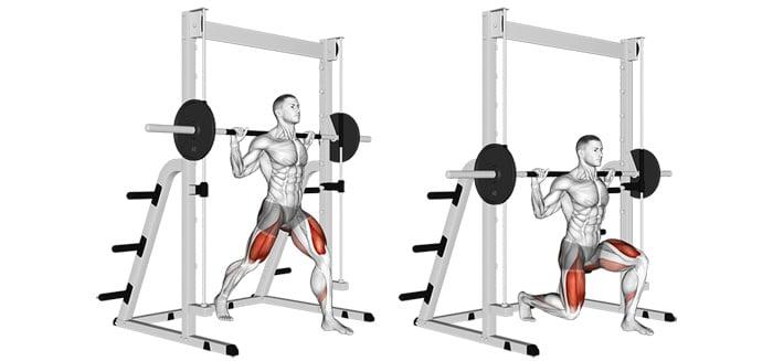 Smith Machine Split Squats