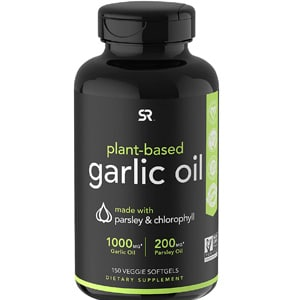 Sports Research Garlic Oil Gels