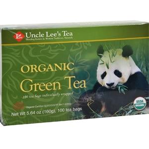 Uncle Lee S Tea Organic Green Tea Bags