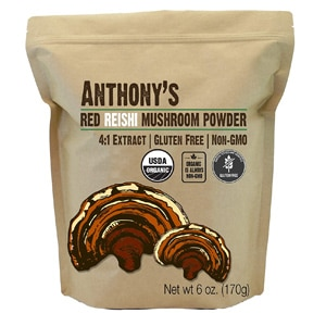 Anthony S Red Reishi Mushroom Extract Powder