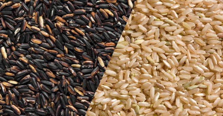 Black Rice Vs. Brown Rice