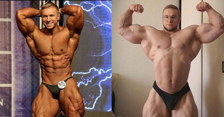 Bodybuilder Vitaliy Ugolnikov