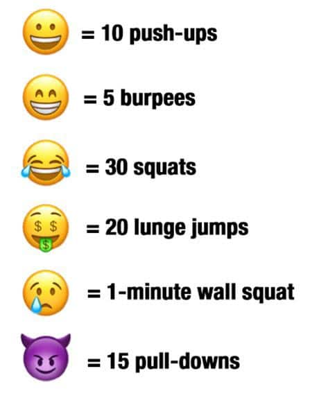 Emoji Workout