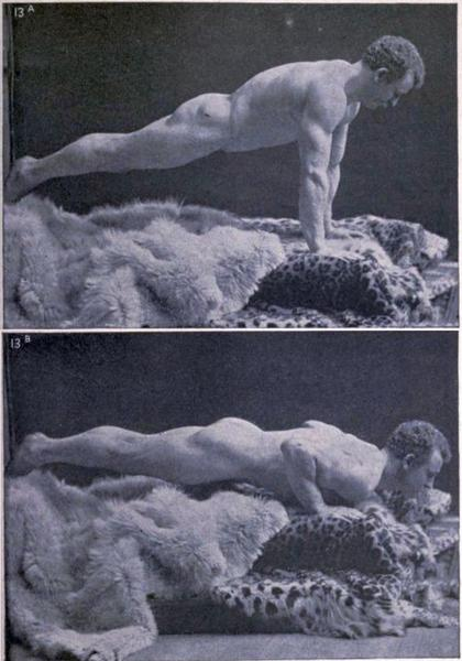 Eugen Sandow Pushups