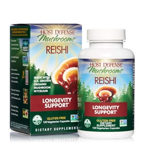 Host Defense Reishi Mushrooms Capsules