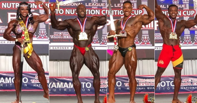 IFBB Tampa Pro 2020 Results