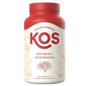 Kos Red Reishi Mushroom Capsules