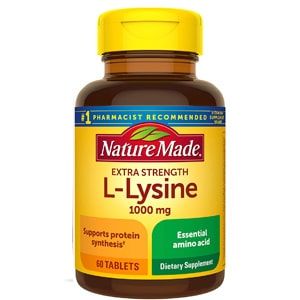 Nature Made Extra Strength L Lysine