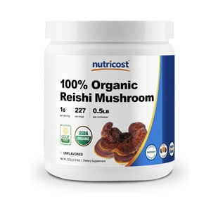 Nutricost Organic Reishi Mushroom Powder