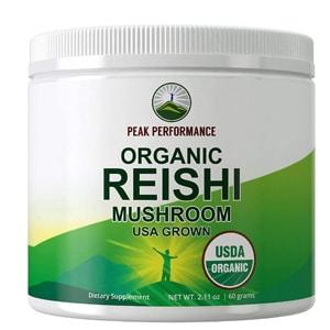 Peak Performance Organic Reishi Mushroom