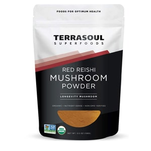 Terrasoul Superfoods Red Reishi Mushroom Powder