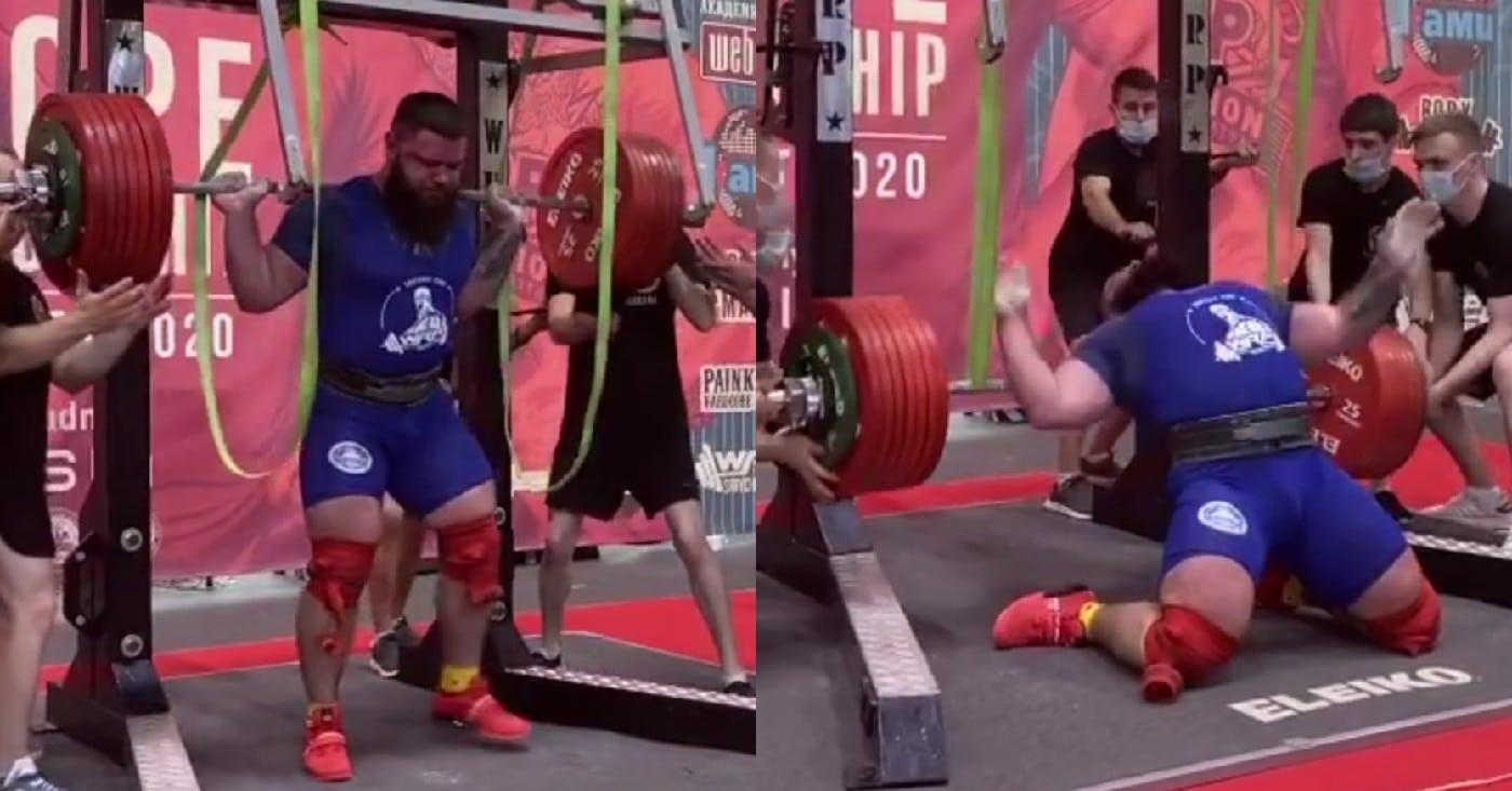 Powerlifter Alexander Sedykh Breaks Both Knees In Failed 400kg ...