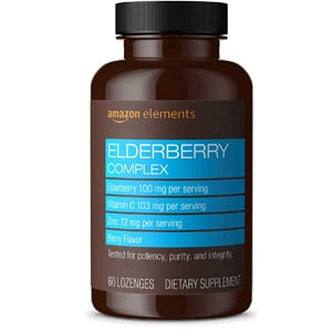 Amazon Elements Elderberry Complex Lozenges