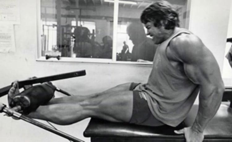 Arnold Leg Exercise