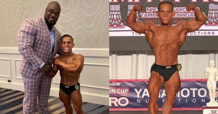 Bodybuilder Hector Ramos Amador