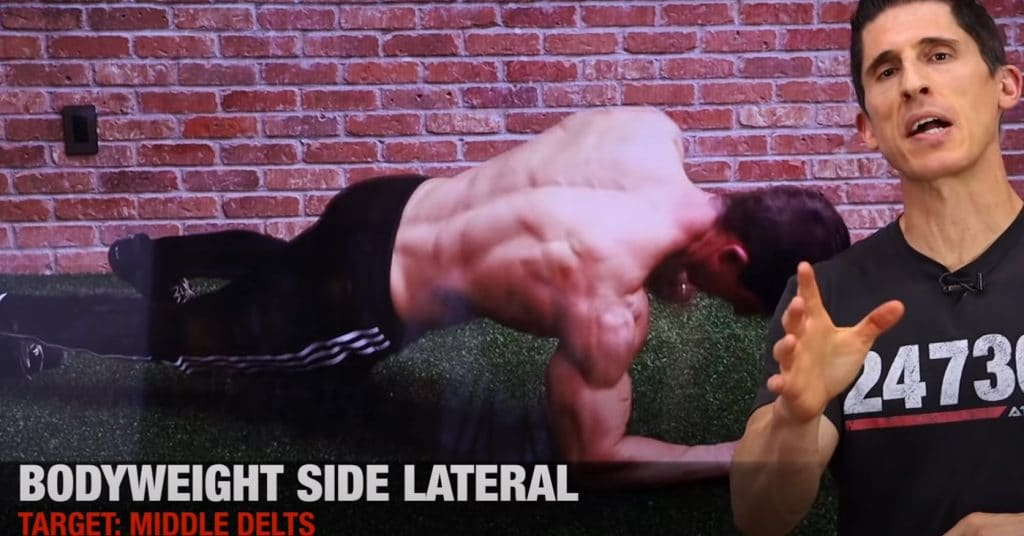 Bodyweight Side Lateral