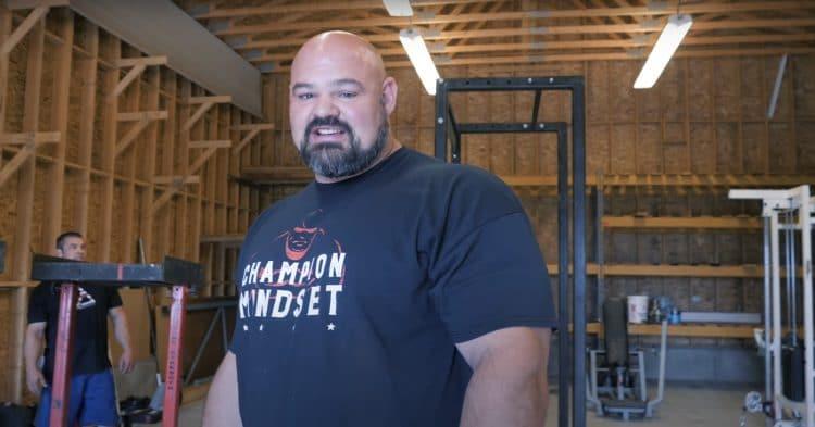 Brian Shaw Mountain Gym