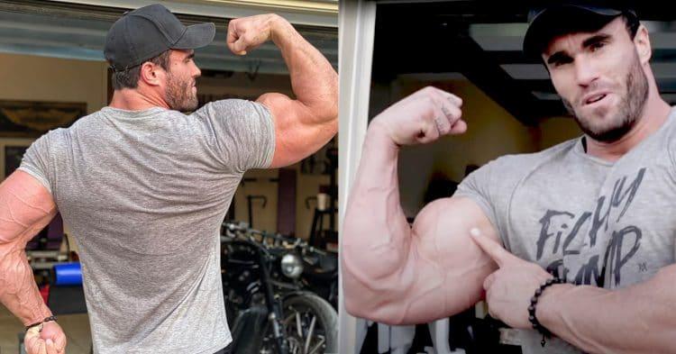 Calum Von Moger Tips For Biceps Peaks